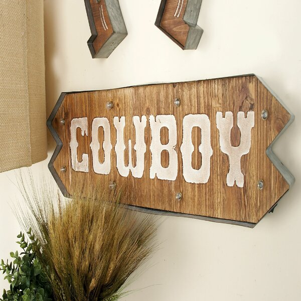 Cowboy LED Marquee Sign by Cole & Grey