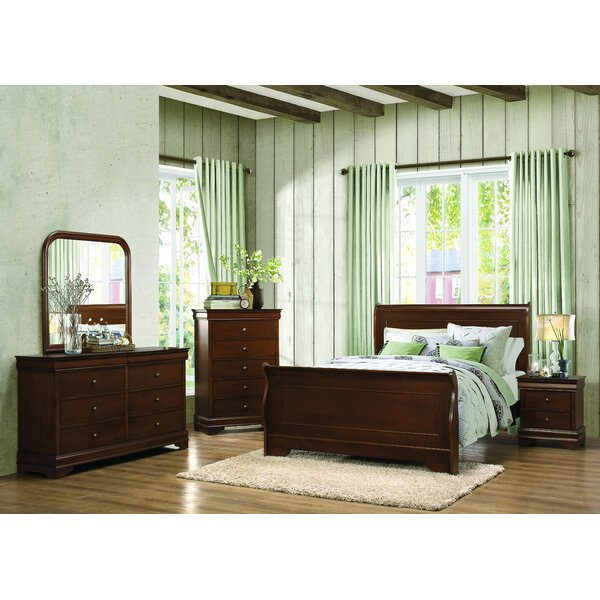Abbeville Sleigh Configurable Bedroom Set by Homelegance