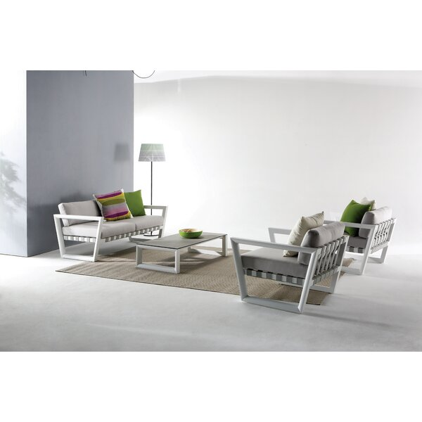George 8 Piece Sofa Set with Cushions by Wade Logan