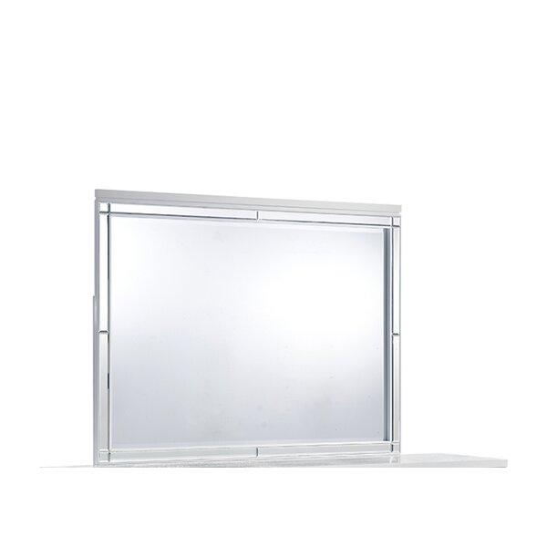Catalina Rectangular Dresser Mirror by Global Furniture USA