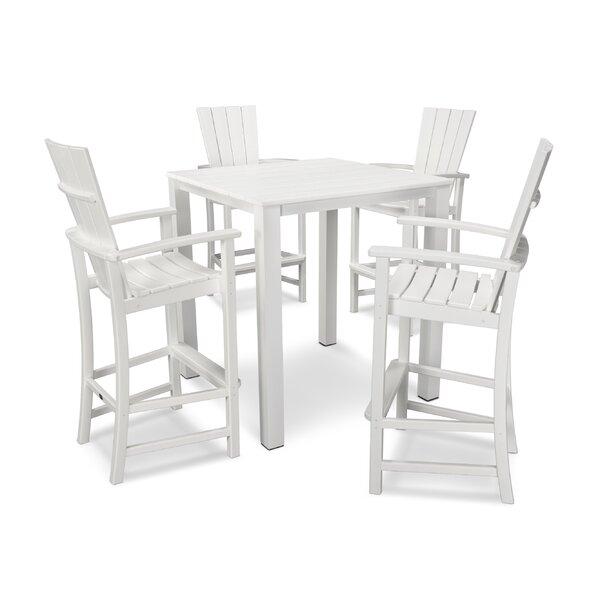 Quattro 5 Piece Dining Set by POLYWOOD®
