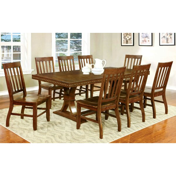 Florencio 9 Piece Dining Set by Loon Peak