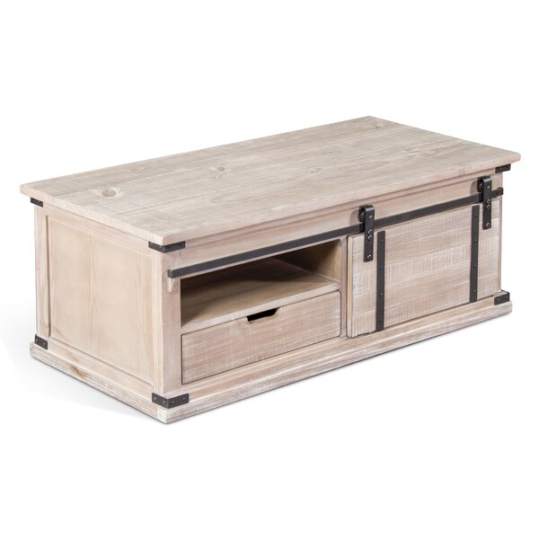 Howden Barn Door Coffee Table By 17 Stories Wonderful