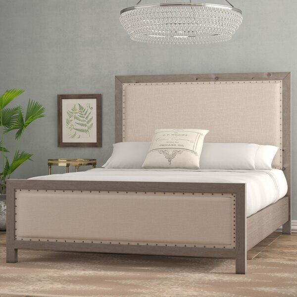 Aguirre Upholstered Standard Bed by Lark Manor
