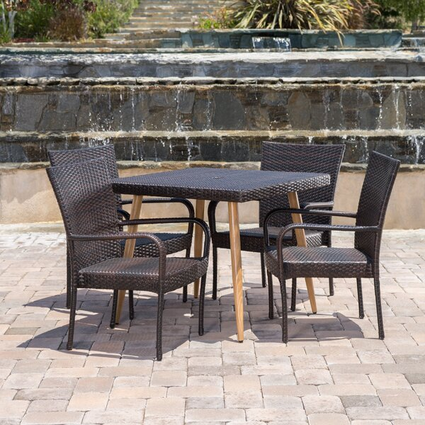 Dismuke 5 Piece Dining Set by Ivy Bronx