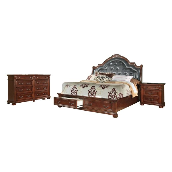 Goldsmith Platform Configurable Bedroom Set by Flair