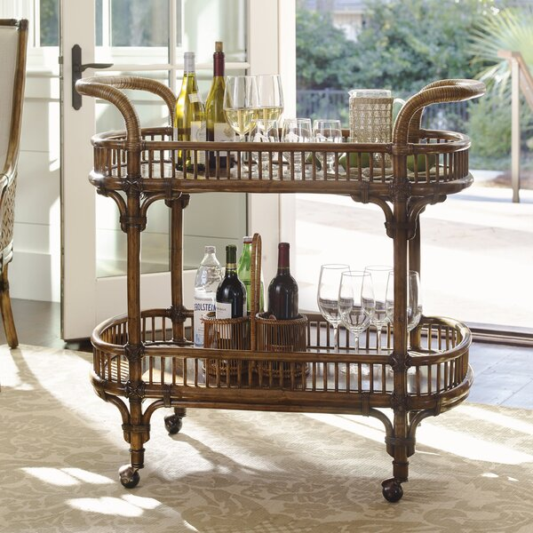 Bali Hai Bar Cart by Tommy Bahama Home