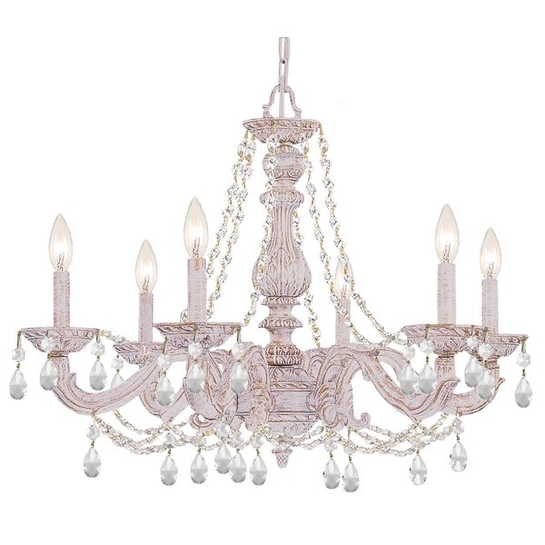 Odessa 6 - Light Candle Style Classic / Traditional Chandelier by Viv + Rae Viv + Rae
