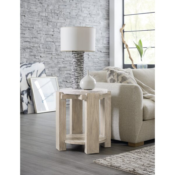 Amani Round End Table By Hooker Furniture
