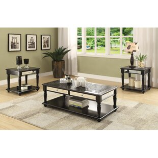 Price Check Jannie 3 Piece Coffee Table Set By Canora Grey