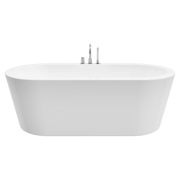 Una 71 x 24 Freestanding Soaking Bathtub by A&E Ba