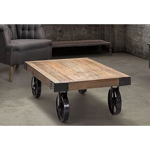 Charney Rustic Charm Coffee Table 17 Stories #1