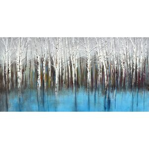 'Mirage Horizontal Panel' by Sandy Doonan Painting Print on Wrapped Canvas by Portfolio Canvas Decor