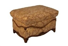 Shoping Leather Ottoman