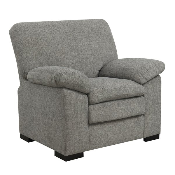 Kober Pebbled Accent Armchair by Charlton Home Charlton Home