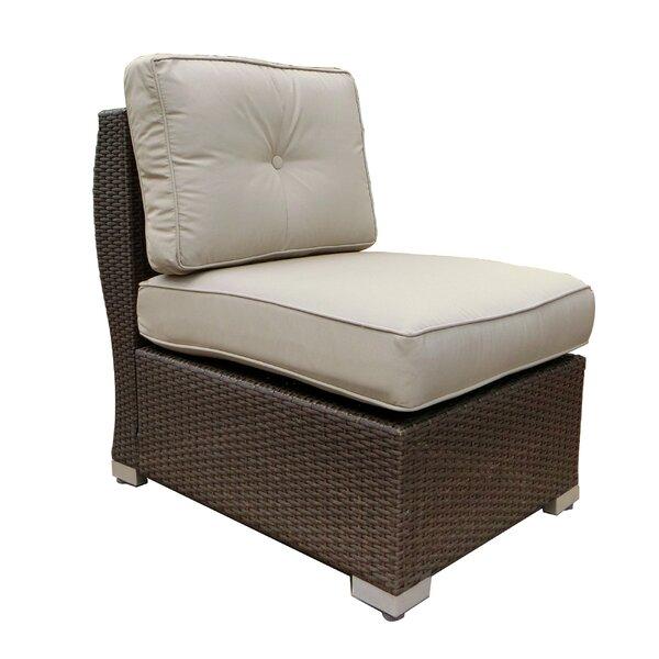 Hasan Armless Patio Chair with Cushion by Brayden Studio