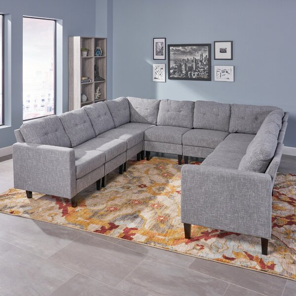 Mullenax Symmetrical Mid Century Modular Sectional By Ivy Bronx