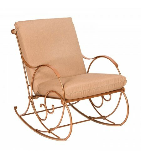 Wellington Rocking Chair with Cushions by Woodard