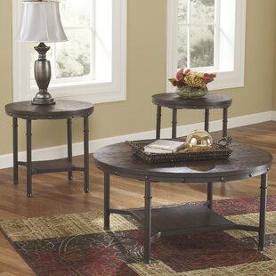 Merveilleux Gaetan 3 Piece Coffee Table Set