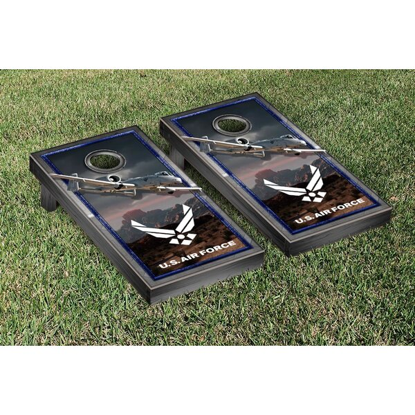 NCAA US Air Force A10 Warthog Version Cornhole Game Set by Victory Tailgate