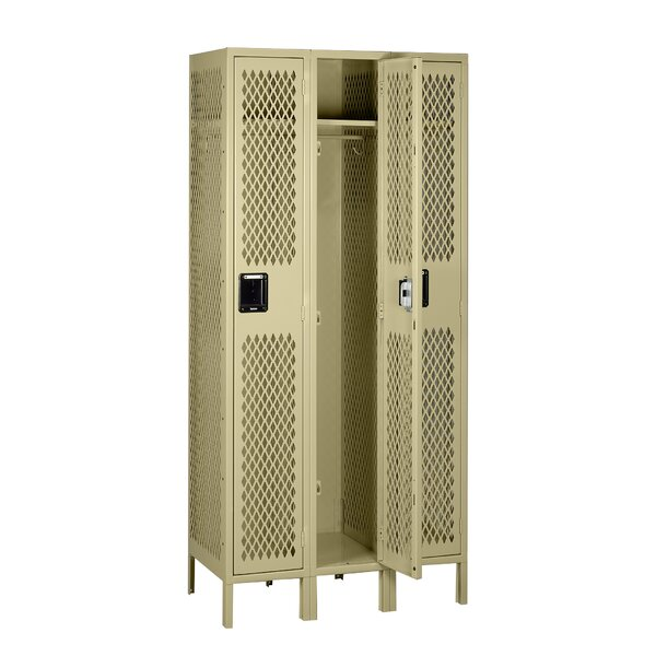 1 Tier 3 Wide Gym and Locker Room Locker by Tennsco Corp.