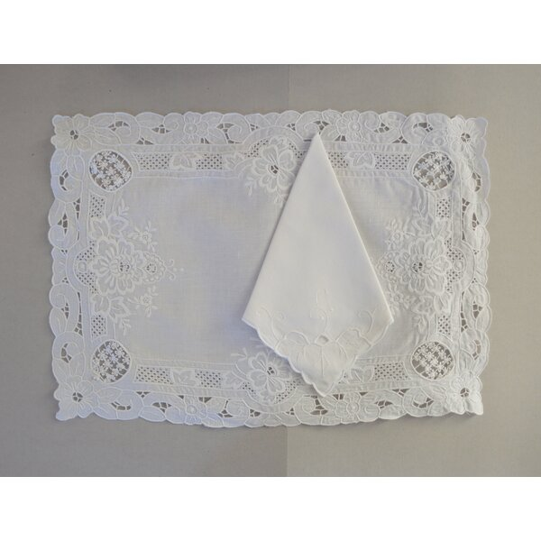 Florentine Placemat & Napkin by Fino Lino