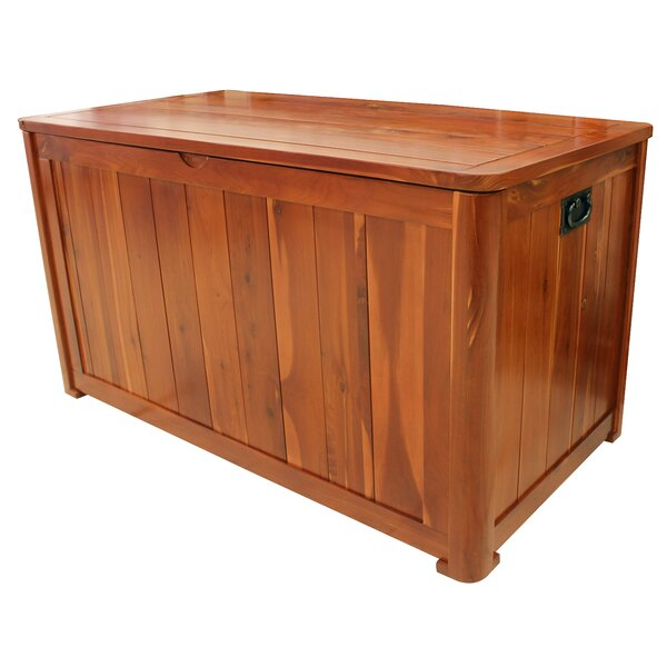 20 Gallon Solid Wood Deck Box by Leigh Country Leigh Country