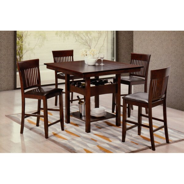 Rock Hill 5 Piece Dining Set by Red Barrel Studio