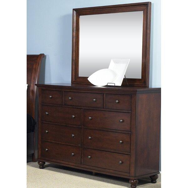 Garrick 9 Drawer Dresser with Mirror by Birch Lane™ Heritage