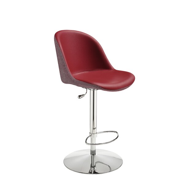 Sonny Adjustable Height Swivel Bar Stool by Midj