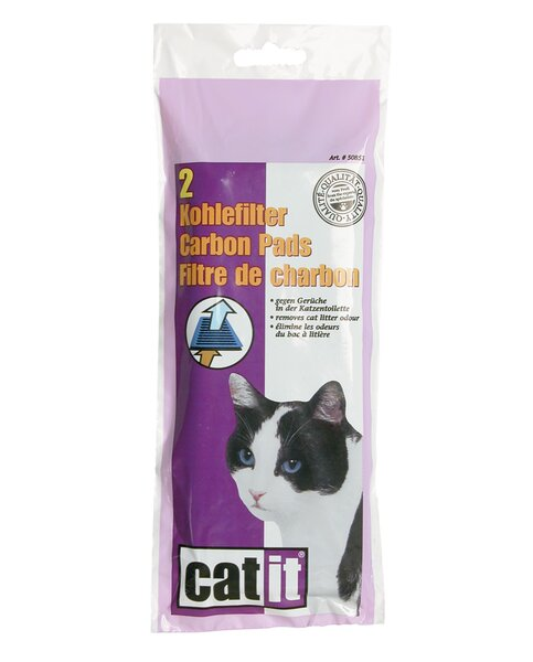 Catit Carbon Pads for Hooded Cat Pan by Catit by Hagen