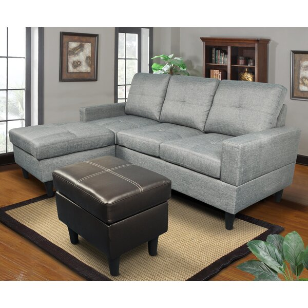 Ava Reversible Sectional by Beverly Fine Furniture