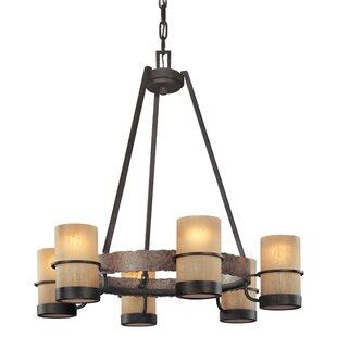 Online Reviews Patton 6-Light Shaded Chandelier By Loon Peak