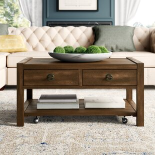 Best Price Arbyrd Coffee Table with Storage By Greyleigh