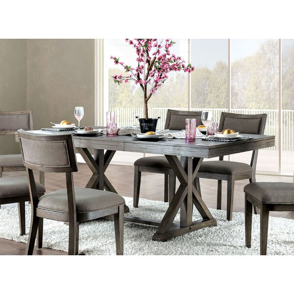 Clegg Extendable Dining Table by Gracie Oaks