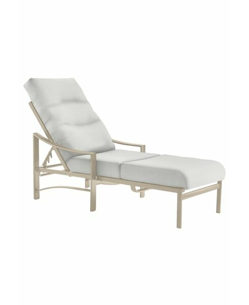 Kenzo Reclining Chaise Lounge with Cushion by Tropitone