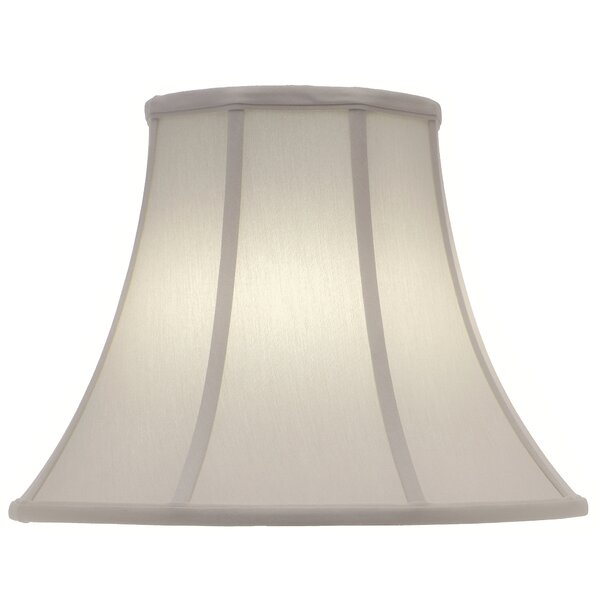 15 H x 20 W Linen Bell Lamp Shade ( Spider ) in Ivory Shadow