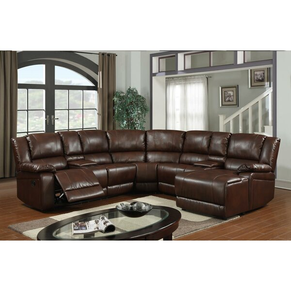Cadence Reclining Sectional by Wildon Home ®