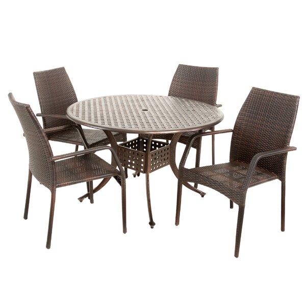 Fuller Outdoor Aluminum Dining Table by Astoria Grand