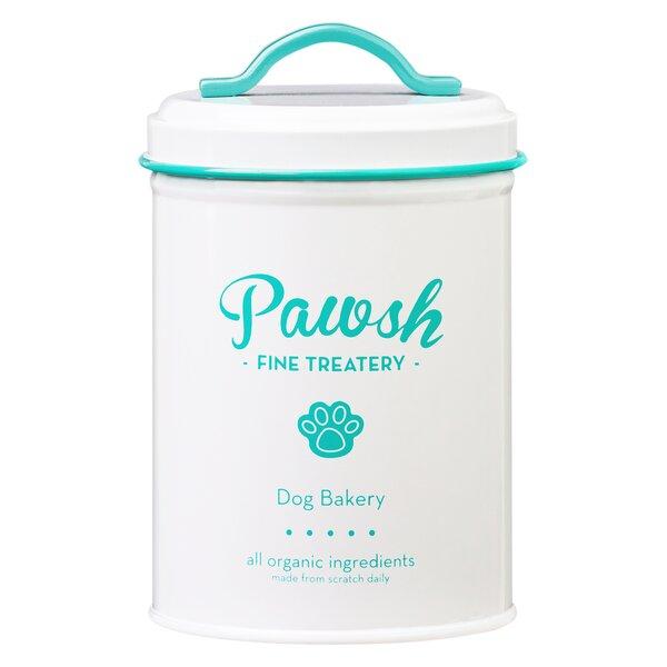 Pawsh 1.37 qt. Pet Treat Jar by Global Amici