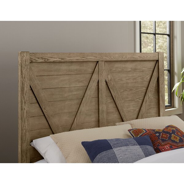 Erving V Panel Headboard by Darby Home Co