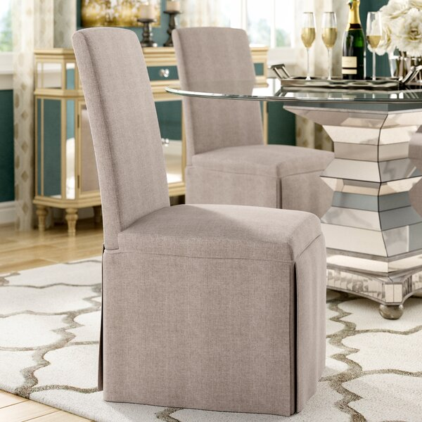 Lamb Upholstered Dining Chair (Set of 2) by Willa Arlo Interiors