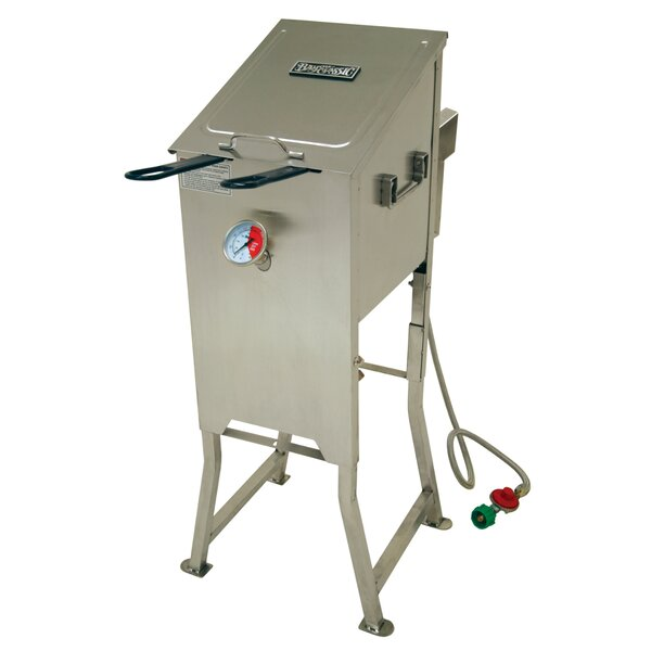 4 Gallon Bayou Fryer with 2 Stainless Baskets by Bayou Classic