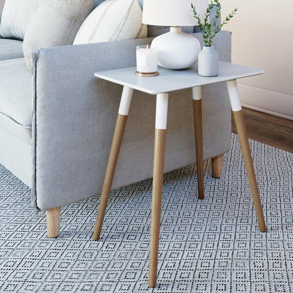 Mesilla Rounded Edge End Table By Wrought Studio