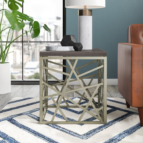 Kyzer End Table by Mercury Row