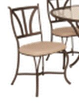 Pomerleau Patio Dining Chair with Cushion by Fleur De Lis Living