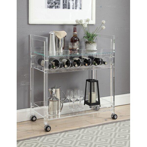 Woodbridge Bar Cart by Everly Quinn Everly Quinn