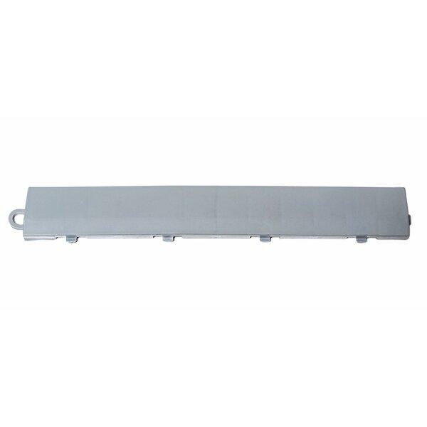 12 x 1.75 Plastic Interlocking Deck Edge Trim in Gray by DuraGrid