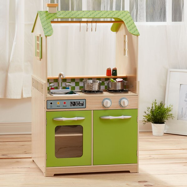 Play Kitchen with Dual Washers Set by Teamson Kids