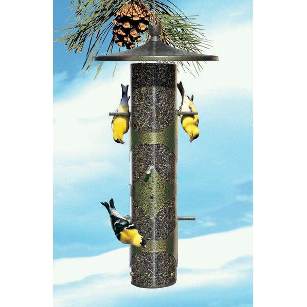 Upside-Down Finch Tube Bird Feeder (Set of 2) by Perky Pet